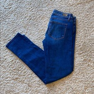 Paige Skyline Ankle Peg Jeans- Like New!
